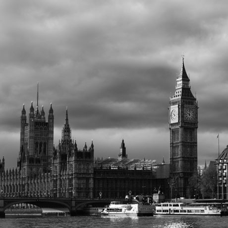 London black and white photographs